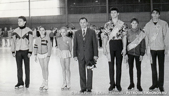Справа налево: Глеб Бокий, Екатерина Муругова, Алексей Тихонов, Владимир Захаров, Алексей Летов