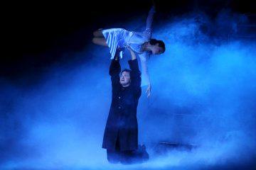 Мария Петрова и Алексей Тихонов, ледовый спектакль «Ромео и Джульетта», 03 ноября 2017, Москва, МСА «Лужники»